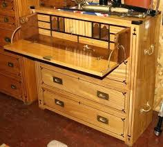 bureau marine ancien meuble secretaire ancien commode marine secractaire en citronier et