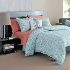 Turquoise And Coral Bedroom The Antique Chevron Full Queen Bedding Set Includes A Full Queen