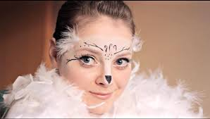 Snowy Owl Halloween Costume by Hedwig Inspired Makeup Tutorial Callie Youtube