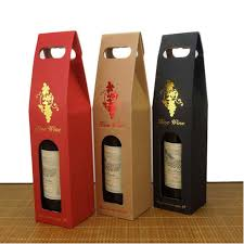 Wine Gift Boxes Dw W0805 High Quality Double Wine Gift Box