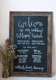 chalkboard wedding program template the 25 best wedding chalkboard backdrop ideas on