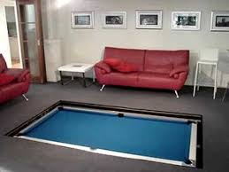 Disappearing Pool Table YouTube - Pool table disguised dining room table