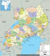 Lake Victoria Africa Map by Maps I Left My Heart In Uganda
