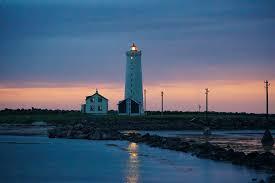 Sunset Reykjavik by Gróttuviti A Beautiful Lighthouse In Grótta Reykjavik Iceland