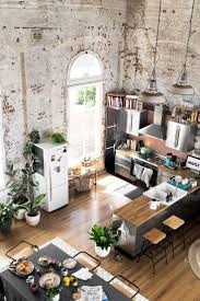 interior of a kitchen furniture concept kitchen loft industrial style good looking