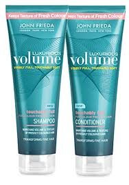 other volumizing shoos for colour teated hair amazon com john frieda luxurious volume for colour treated hair