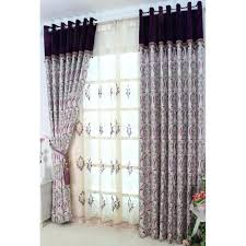 Purple Curtains For Nursery Purple Blackout Curtains Labrevolution2017