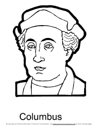 christopher columbus coloring pages chuckbutt com