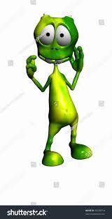 cartoon alien stock illustration 10258714 shutterstock