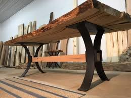 dining table base wood image result for metal table base with trestle home ideas
