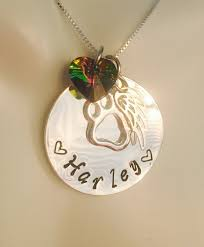 memorial gifts for loss of personalized rainbow bridge pet loss necklace pet loss pet loss