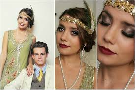 flapper daisy buchanan gatsby tutorial hair makeup outfit you