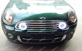 how to install led daytime running ls rally lights on mini cooper