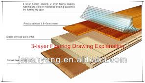 soundproof uv white oak engineered wood flooring