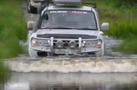 mitsubishi adventure mitsubishi pajero 4x4 extreme off road adventure in russia youtube