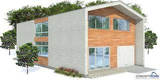 narrow contemporary house plan ch156 2f 188m 3b house plan