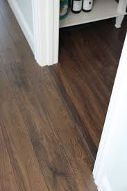 laminate to the left vinyl plank floor to the right 15do it