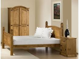 4ft Bed Frame Corona Small 4ft Bed Frame In Solid Mexican Pine Wood