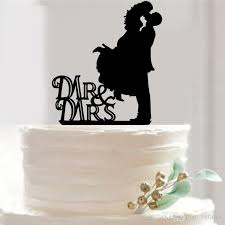 black wedding cake toppers novel wedding cake topper acrylic custom name cake topper