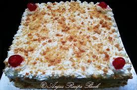 butterscotch cake anju u0027s recipe book
