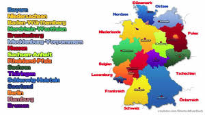 Show Me A Map Of Germany by Learn German Episode 9 The German Federal States Die