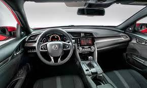 Honda Civic Si Interior 2018 Honda Civic Si Features Toyota Suv 2018