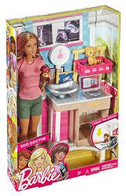 barbie kitchen furniture amazon com barbie zoo doctor playset toys u0026 games