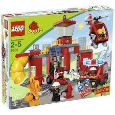 lego duplo sets 5601 station new damaged box