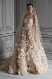 blush wedding dress trend 7 wedding dress trends for 2012