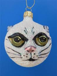 Lenox Christmas Ornaments Ebay by 686 Best Cat Christmas Ornaments Images On Pinterest Christmas