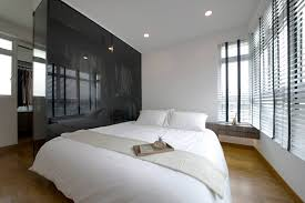 Home Design Ideas Hdb Master Bedroom View With Walk In Wardrobe For The Roof Above My