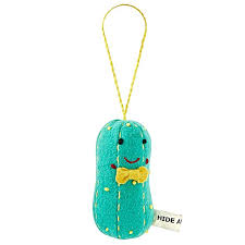 traditional pickle ornament the land of nod