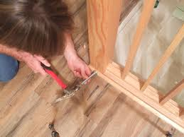 Laminate Floor Direction How To Install Shoe Molding Or Quarter Round