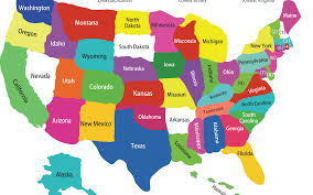 map of us states names us state map with names geography us maps with states