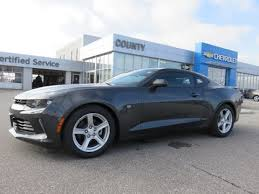 grey camaro 2017 camaro 1lt coupe nightfall grey