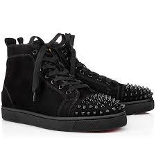 fashion christian louboutin mens sneakers shoes cheap sale