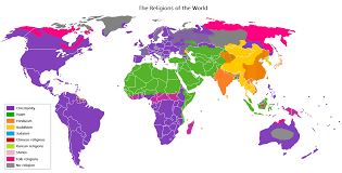 6 new facts about religion in the world most and least religious