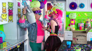 Music Party Theme Decorations Awesome 80s Party Youtube