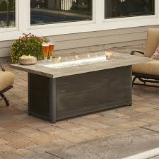 best gas fire pit tables the outdoor greatroom company cedar ridge gas fire pit table