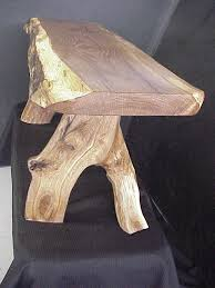 Courting Bench For Sale Rustic Oak Log Bench
