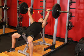 Barbell Bench Press Technique Barbell Incline Bench Press Medium Grip U2014 How To Do It Of