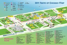 grant park chicago map taste of chicago guide cbs chicago