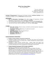 manual testing sample resume sample cover letter for freshers resume pdf india docoments ojazlink good resume templates for freshers