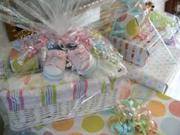 gift basket wrapping paper baby shower gift basket ideas eat craft parent gift ideas