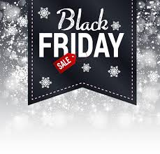 adobe black friday sale 3d black friday design on snowflakes background free vector in