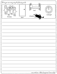 story starters what u0027s going on handwriting worksheets