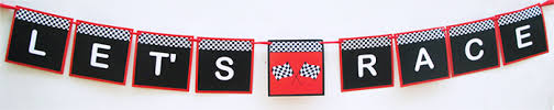 party banner race car birthday party printables party decorations