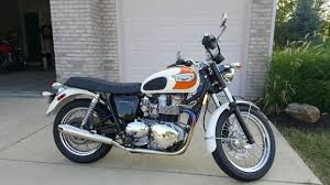 triumph bonneville t100 motorcycles for sale in indiana