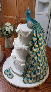 Peacock Themed Wedding The 25 Best Peacock Wedding Cake Ideas On Pinterest Unique