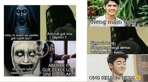 film hantu lucu indonesia terbaru danur sukses raih rekor muri meme meme film horor ini justru kocak